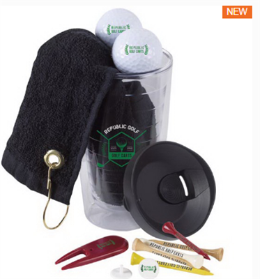 Tumbler n Towel Golf Kit